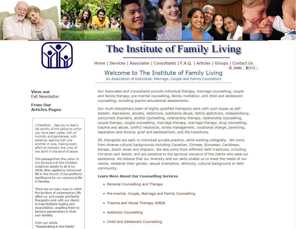 The Institute of Family Living